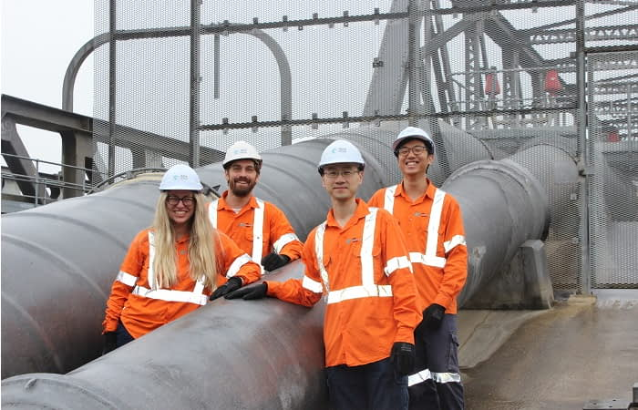 Pipeline condition assessment team